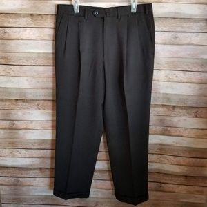 Ermenegildo Zegna Pleated Wool Dress Pants 36R EUC